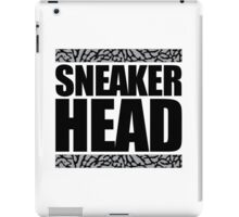 Sneakerhead -Black Out Cement iPad Case/Skin
