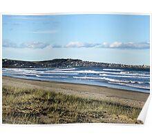 Rough Seas near Gerroa,  (South Coast, NSW) Poster
