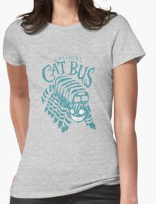 CHESHIRE CAT BUS Womens Fitted T-Shirt