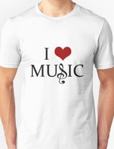 I Love Music - 2 T-Shirt