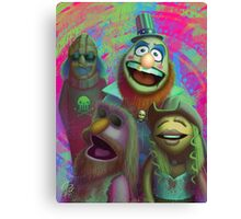 Muppet Maniac - Electric Mayhem as the Firefly Family Canvas Print