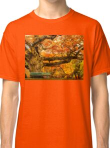 Colorful Old Oak Tree Classic T-Shirt