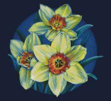 Daffodils T by Sarah Trett