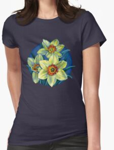 Daffodils T Womens Fitted T-Shirt
