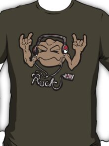 Geodude Loves Rock Music! T-Shirt