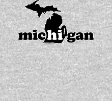 Hi From Michigan - Black T-Shirt