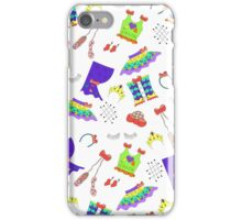 Dance is in the air (white version) iPhone Case/Skin