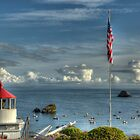 Trinidad Memorial LIghthouse by Rick Gustafson