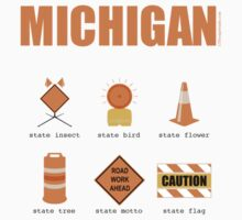 Michigan State Symbols by LTDesignStudio