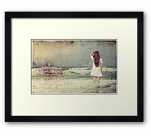 Resolve, and Thou Art Free... Framed Print