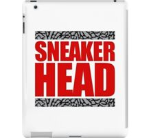 Sneakerhead - Fire Red Cement iPad Case/Skin