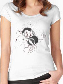 Tech Headphone Women's Fitted Scoop T-Shirt