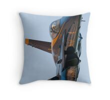 Angel on a Rampage Throw Pillow