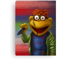 Muppet Maniac - Scooter as Chucky Canvas Print