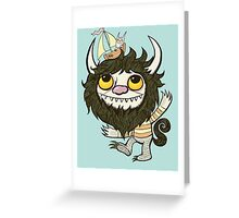 An Ode To Wild Things Greeting Card