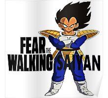FEAR THE WALKING SAIYAN Poster