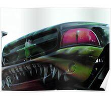 Jurassic Attaque Monster Car Poster