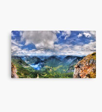 5 Fingers - Krippenstein (Austria) - 36 shot HDR Panorama Canvas Print