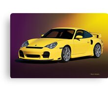2001 Porsche 911 Turbo Canvas Print