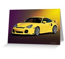 2001 Porsche 911 Turbo Greeting Card