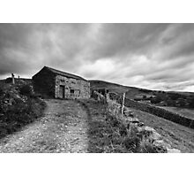 Field barn at Muker in Swaledale Photographic Print