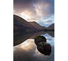 Two rocks at Brothers Water Photographic Print