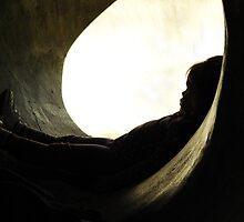 Grumpy. A Silhouette. by tarynb