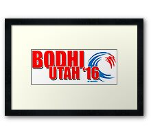 Bodhi Utah 2016 for X-President Framed Print