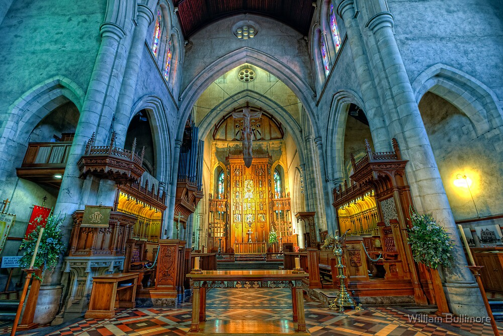 St Peter's Cathedral • Adelaide • South Australia by William Bullimore