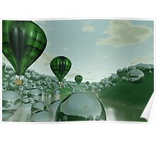 Reflections of the chlorophyll synchronicity Poster