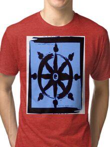 Wheel of dharma Tri-blend T-Shirt
