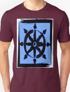Wheel of dharma Unisex T-Shirt