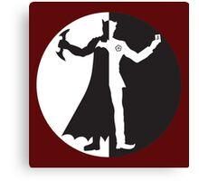 Gotham Opposites Canvas Print