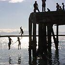 Nelson Summer Silhouette by Steven Carpinter