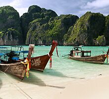 Maya Beach by Andrew Cowell