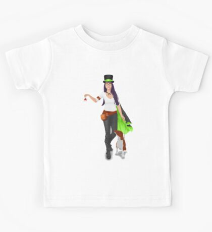 Steampunk Angel Kids Tee