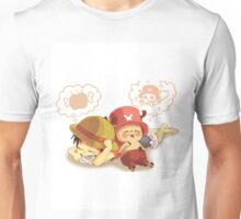 luffy n chopper Unisex T-Shirt
