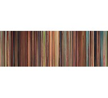 Moviebarcode: Spirited Away (2001) Photographic Print
