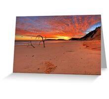 Double Island Sunrise Greeting Card