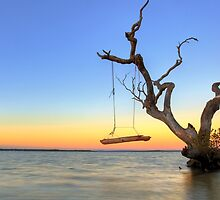 Sunrise Swing at Inskip by Adam Gormley