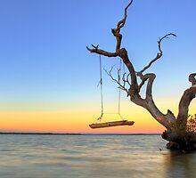 Sunrise Swing at Inskip by Adam Gormley