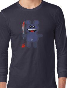 BEAR 2 (Cute pet with a sharp knife!) Long Sleeve T-Shirt