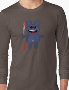 BEAR 2 (Cute pet with a sharp knife!) Long Sleeve T-Shirt
