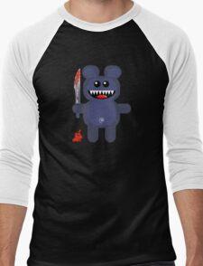 BEAR 2 (Cute pet with a sharp knife!) Men's Baseball ¾ T-Shirt