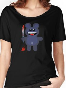 BEAR 2 (Cute pet with a sharp knife!) Women's Relaxed Fit T-Shirt