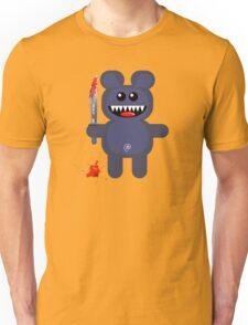 BEAR 2 (Cute pet with a sharp knife!) Unisex T-Shirt