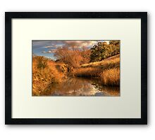 Watercolours - Somewhere near Oberon NSW Australia - The HDR Experience Framed Print
