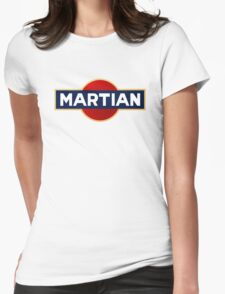 Martian martini Womens Fitted T-Shirt