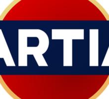 Martian martini Sticker