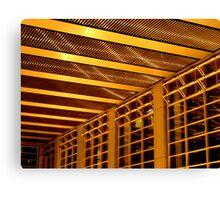 deutsche bank building foyer sydney Canvas Print